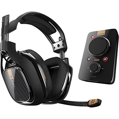 ASTRO Gaming A40 TR Headset + MixAmp Pro TR for PlayStation 4 (Renewed) ()
