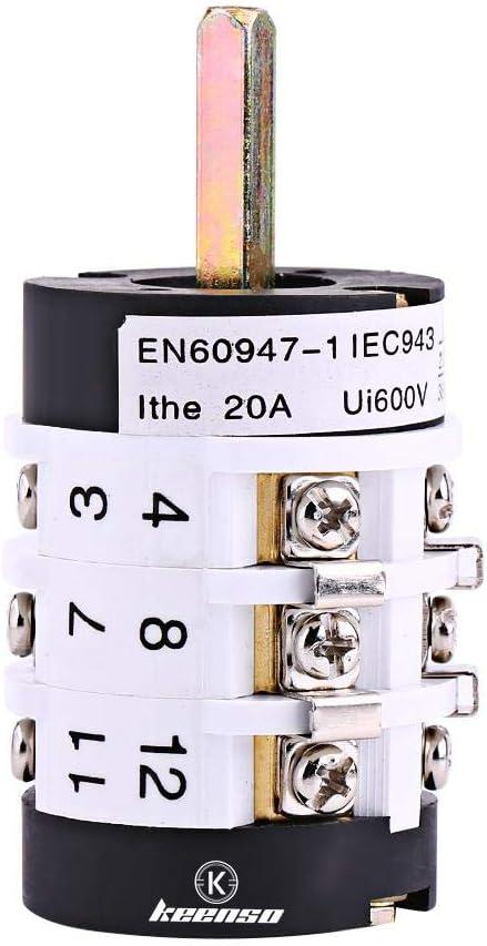 Interruptor reverso delantero del motor de la máquina del cambiador del neumático de coche de 220V / de 380V 20A