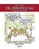 Zwillinge 2018: Sternzeichen-Cartoonkalender