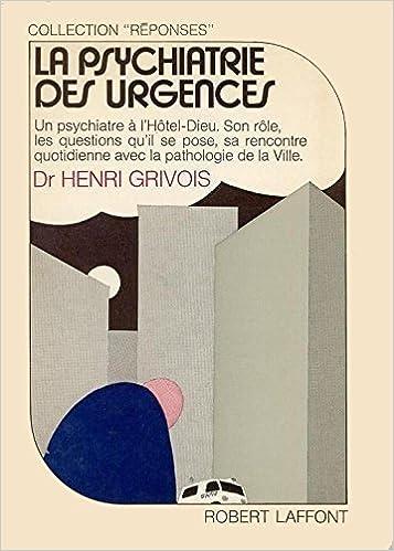 Livre PSYCHIATRIE DES URGENCES pdf