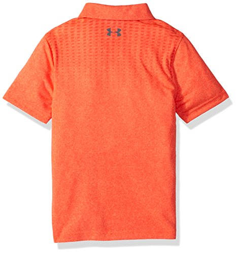 Under Armour Boys' Threadborne JS Outer Glow Polo