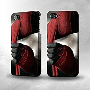 Apple iPhone 5 / 5S Case - The Best 3D Full Wrap iPhone Case - Boxing Fighter