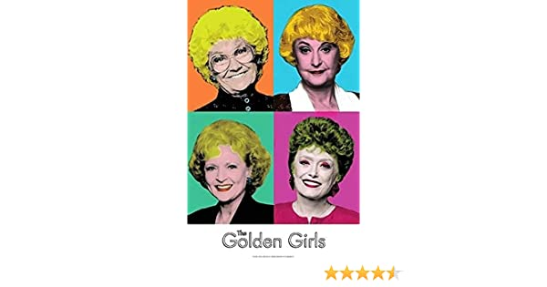 """The Golden Girls tv show Art Print great wall hanging /""""8x10/""""decorations picture"""