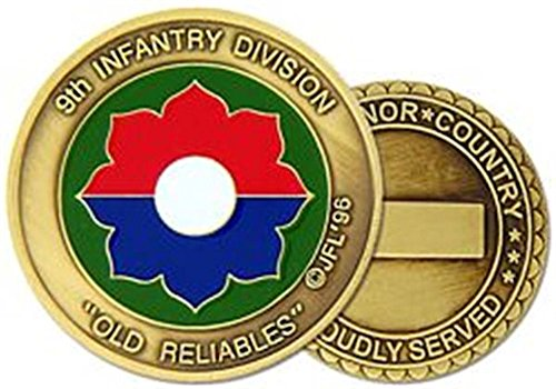 9th Infantry Division Challenge Coin (9th Infantry Division)