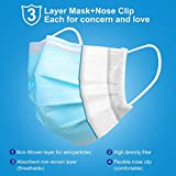 WAPIKE Disposable Face Masks, Face Masks of 50 Pack Disposable Mask