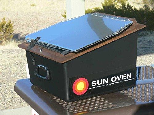 Premium Bundle- All American Sun Oven- The Ultimate Solar Appliance w/ EasyStack Pots, Interchangeable Enamel andGlass Lids by SUN OVENS International (Image #5)
