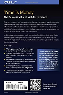 Time Is Money: The Business Value of Web Performance: Tammy