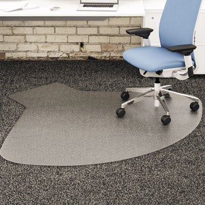 Supermat Vinyl (SuperMat Vinyl Chair Mat for Firm Commercial Carpets, Beveled, 60 x 6