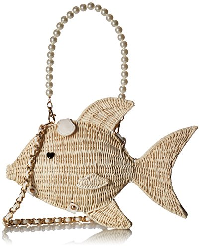 Betsey Johnson Gone Fishin, Tan 51kWwXh6z7L