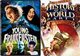 Comedy Classics by Mel Brooks' 2-Movie Masterpiece Collection: Young Frankenstein & History of the World Part 1 2-DVD Bundle