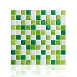 "Cocotik Peel and Stick Tile 10""x10"" High Quality Anti-mold Peel and Stick Wall Tiles(10)"