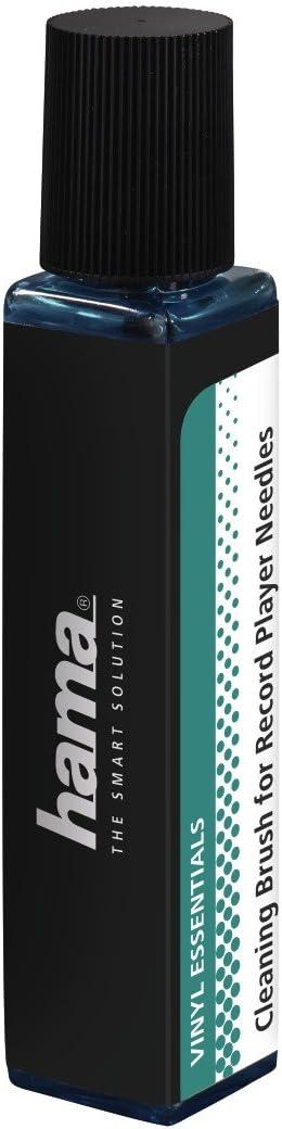 Hama Reinigungsbürste Für Schallplattennadeln 1 Carbonfaser Nadelbürste 20 Ml Nadel Reinigungsflüssigkeit
