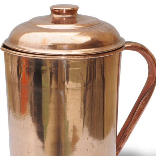 Dakshcraft copper pitcher jug buy online in uae for Kitchen craft cookware reviews