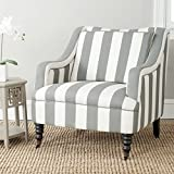 Safavieh Mercer Collection Homer Arm Chair Grey Blue