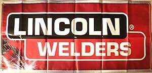 Lincoln eléctrica Motorsport Racing Banner 6pies de largo 3pie alto
