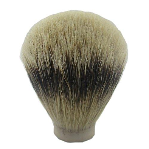 VIGSHAVING 23.5mm Knot Diameter Silvertip badger hair Shaving Brush Knot