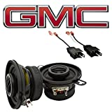 Fits GMC S-15 C/K Pickup 1973-1987 Front Dash Factory Replacement Harmony HA-R35 Speakers