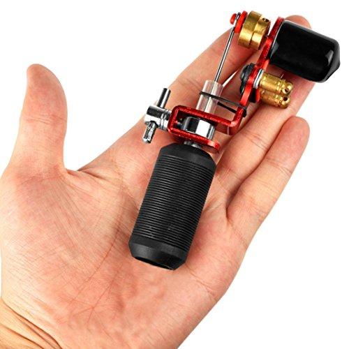 Tattoo Art, Ikevan Body Art Rotary Tattoo Motor Machine Shader Equipment Tattoo Machine Motor Machine Shader Equipment (Red) from Intenze