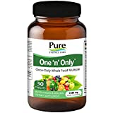 Pure Essence Labs One 'n' Only – World's Most Energetic One Daily Multiple – 30 Tablets For Sale