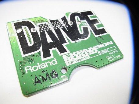 ローランド Roland 拡張音源 SR-JV80-06 Expansion Board エクスパンションボード Dance ダンス◆サウンドモデュール◆シンセサイザー B00UKL7OIK