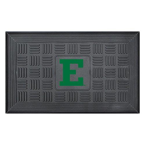 University Ncaa Door Mat (NCAA Eastern Michigan University Medallion Door Mat, Small, Black)