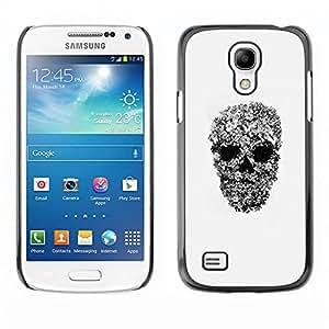 Shell-Star Art & Design plastique dur Coque de protection rigide pour Cas Case pour SAMSUNG Galaxy S4 mini VERSION! / i9190 / i9192 ( Rock Roll Metal Heavy Skull Biker Art )