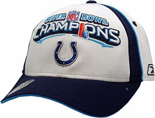 Indianapolis Colts Super Bowl Champions XLI Hat Locker - Reebok Hat Football
