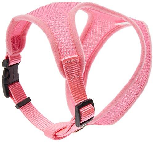 Coastal Pet Productos DCP6413SXMPKB Nylon Comfort Arnés de Náilon Ajustable para Perro, tamaño extra pequeño, rosa...