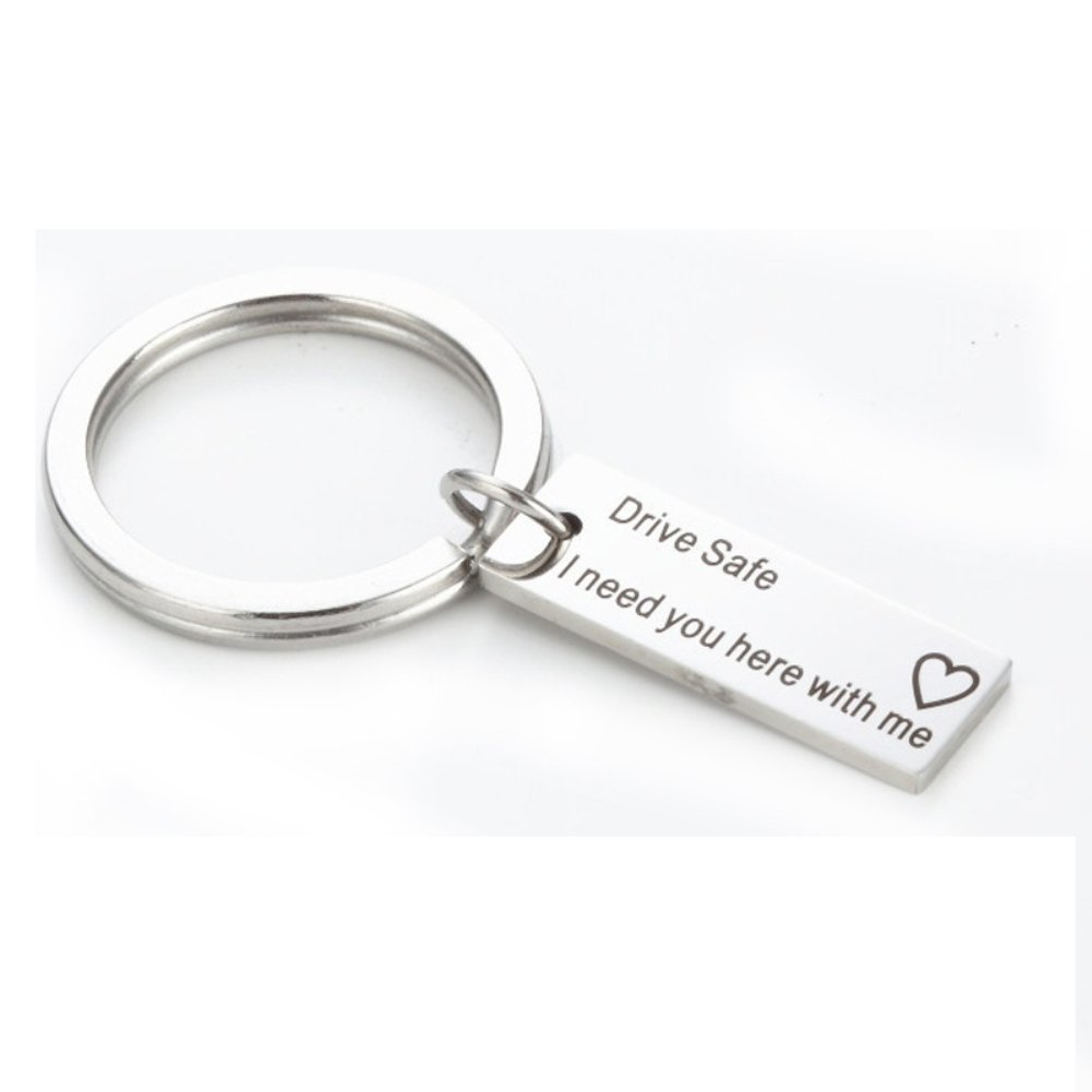 Amazon.com : LBgrandspec Drive Safe Letters Tag Charm ...