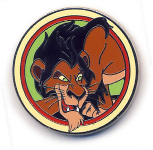Disney Pin 90949: Good Vs Evil - Mystery Pack - Scar Pin the villain from The Lion King -