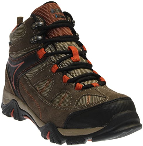 Price comparison product image Hi-Tec Altitude Lite I Waterproof JR Hiking Boot (Toddler/Little Kid/Big Kid),Smokey Brown/Taupe/Red Rock,7 M US Little Kid