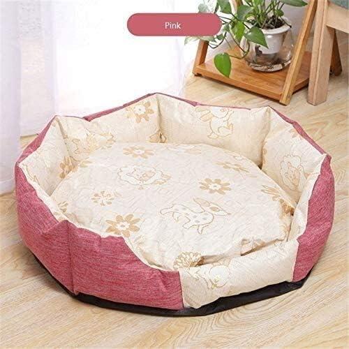Leilims - Saco de dormir para casa octogonal suave con diseño de gato: Amazon.es: Productos para mascotas