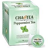 Cha4TEA 36-Count Peppermint Tea K Cups for Keurig K-Cup