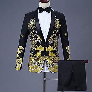 HWTP Traje de Hombre: Vestido Chino, Traje Informal ...