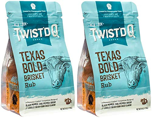 Twist'd Q - American Royal Texas Bold Beef Brisket Rub - 2 Pack