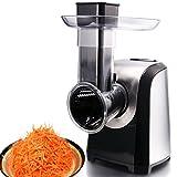 Electric Food Slicer Machine for Home Use, Salad Shredder Slicer...