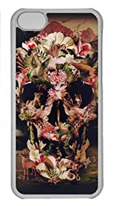 Design Your Own with Painting Style -El Camion Custom Printed Hard Plastic Transparent Case Cover for iphone 5C-50605