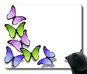 Abstract Butterflies ,Rectangle mouse pad