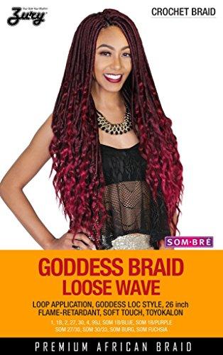ZURY GODDESS BRAID LOOSE WAVE SYNTHETIC BRAIDING HAIR CROCHET BRAID - COLOR 30 - Loose Braid