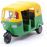 Toyz Zone CNG Auto Rickshaw Plastic Toy for Kids (Multicolour)