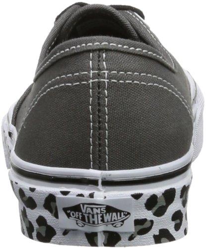 Vans U AUTHENTIC (WASHED) BLACK VVOE4JT Unisex-Erwachsene Sneaker Grau ((Leopard Sidewa)