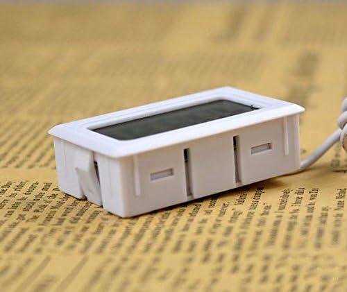 RICISUNG - Termómetro Digital para frigorífico y congelador (Acero ...