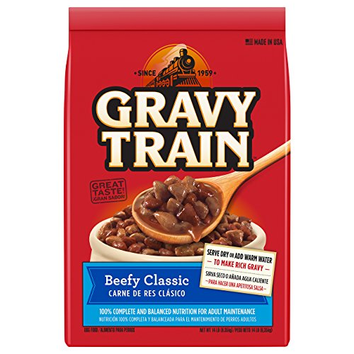 BIG HEART PET BRANDS Gravy Train Beefy Classic Dry Dog Food, ()