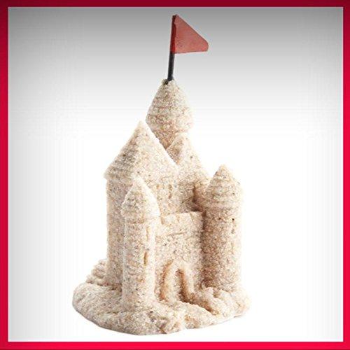 Fairy Garden Fun~ Miniature Sand Castle Dollhouse Figurine - My Mini Fairy Garden Dollhouse Accessories for Outdoor or House Decor