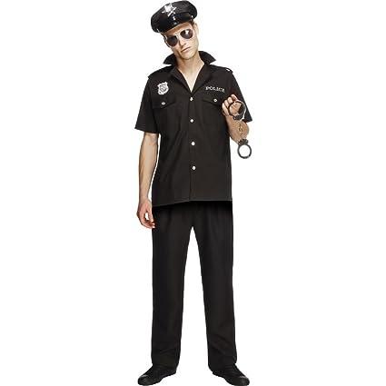 Disfraz de policía sexy para hombre: Amazon.es: Juguetes y ...