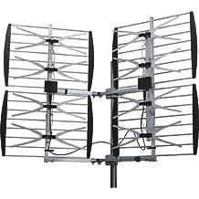 BEST ANTENNA BEST-8HD-90D 360 Degree Adjustable Multidirectional Super 8 Bay HDTV Antenna