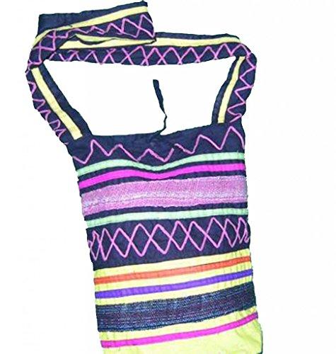 Chinesische Handtasche Schulter Durch K&#246rper Tasche 100% von Stamm Frauen Handgemacht # 541 - Freier Versand, Weltweit