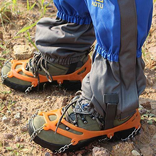 Neige De Dents Chaussures Skidproof Fantasyworld 8 Extérieur Randonnée Spikes Glace Crampons Antislip Alpinisme 8UEqwT6v