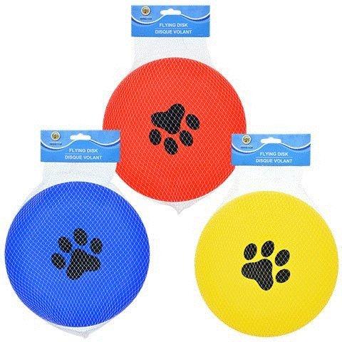 Greenbrier Kennel Club 9 inch Frisbee Flying Disk Dog Toys, SET OF 3