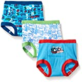 Handcraft Boys' Toddler Thomas 3pk Training Pant, Assorted, 4T